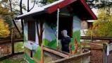 Hasenstall im Kinderhotel Oberjoch