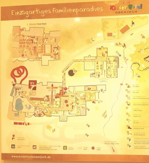 Orientierung im Kinderhotel Oberjoch