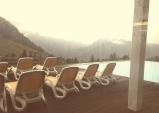 Panorama Schwimmen Kinderhotel Oberjoch
