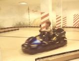 Rennfahrer im Kinderhotel Oberjoch